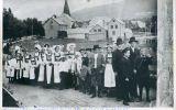 Jonsokbryllup på Vossevangen ca 1900