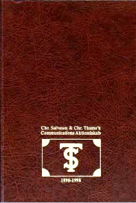 Communication gjennom 100 år : Chr. Salvesen & Chr. Thams's Communications aktieselskab 1898-1998